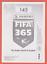 miniature 2 - 4 X Lionel Messi Sticker Panini Fifa 365 2020 2021 #145 Invest