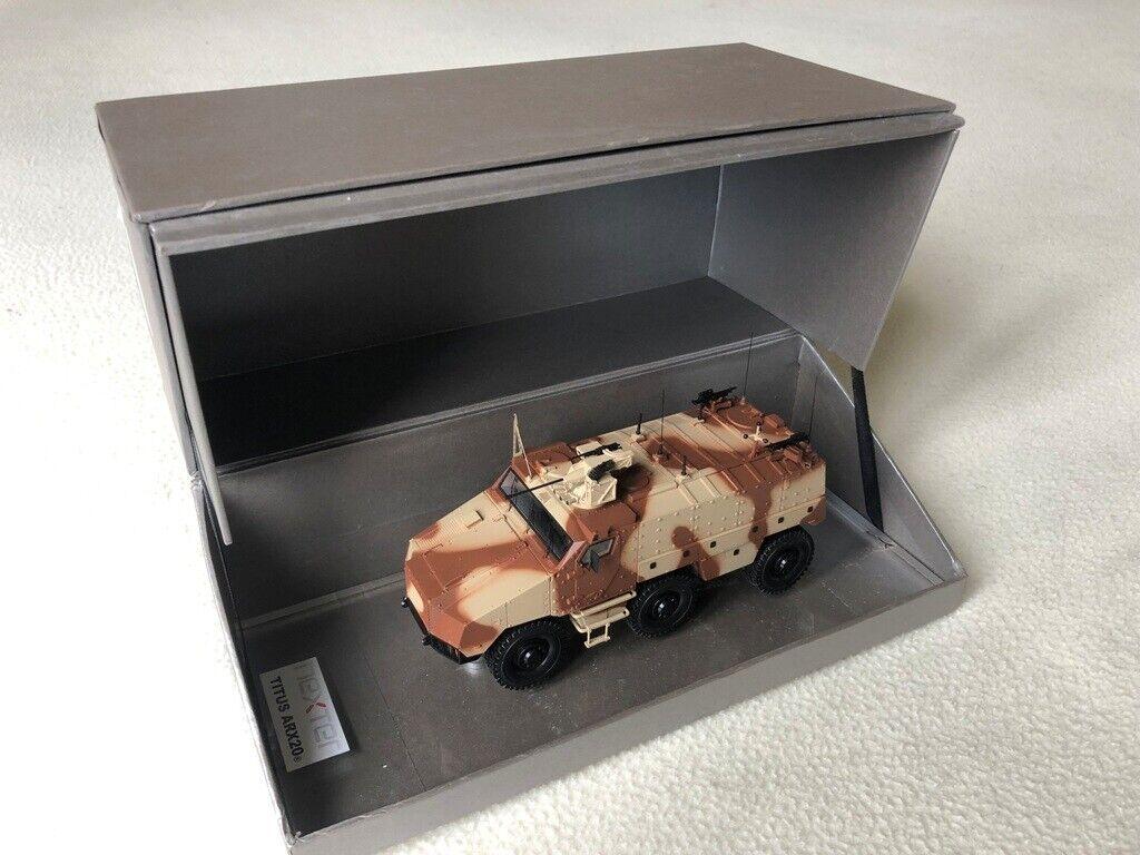 TITUS transport de troupes NEXTER GIAT ARX20mm Gasoline Armée de Terre