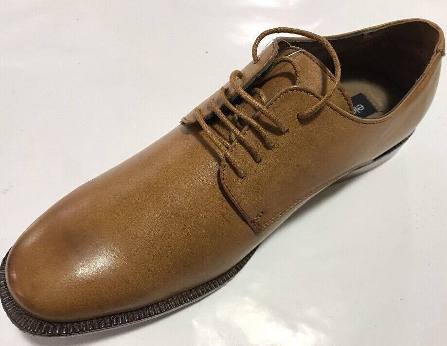 cd8a3760716df0 Men s Dress Shoes Eleganza Walnut Man-made Oxford Oxford Oxford Cap Toe  Size 71a7b1