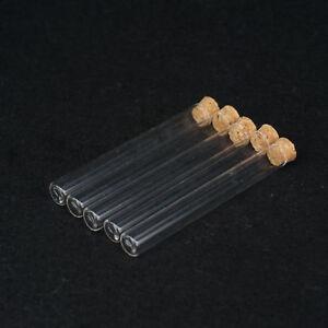 5x-Reagenzglas-ohne-Rand-mit-Korken-aus-Glas