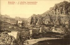 Corinthe Greece Acrocorinthe c1910 Postcard #2