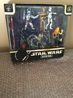 Disney Parks Star Wars Prequel Collection Figures Playset Grievous Darth Maul