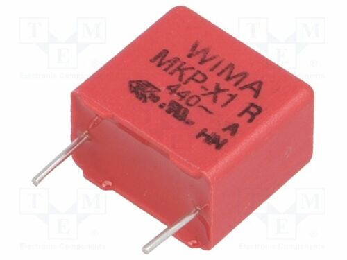 Polypropylen 10nF ±10/% X1 440VAC  THT MKX14W21003I00KSSD Polypropyl Kondensator