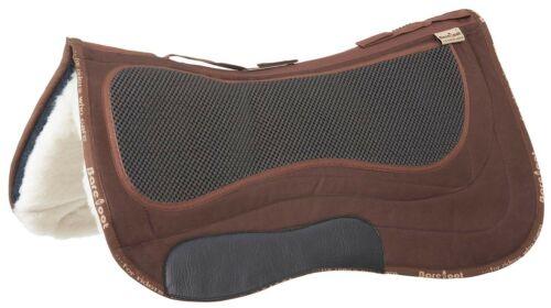 Barefoot Spezial Sattelunterlage braun Western 72cm Missoula etc inkl Einlagen
