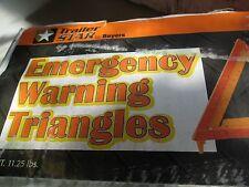Emergency Warning Triple Reflective Triangle Kit TRAILER STAR C0316