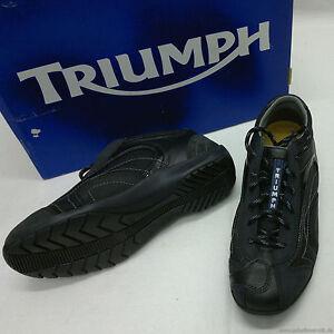 TRIUMPH-original-TEAM-BOOT-sportlicher-Halbschuh-schwarz-41-neu-M9794106