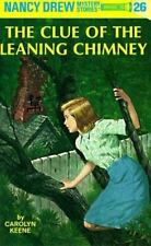 Nancy Drew: The Clue of the Leaning Chimney 26 by Carolyn Keene (1949, Hardcover)