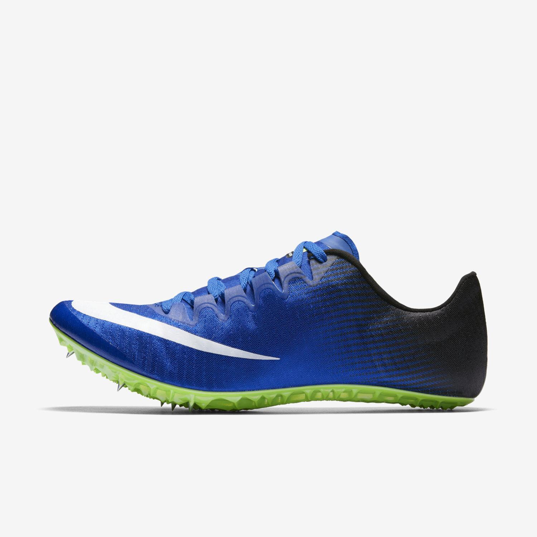 Nike Zoom Superfly Elite Track Field Racing Spikes - bluee Black Green 835996-413
