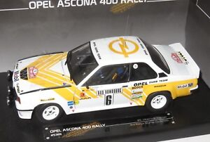 Opel Ascona 400 #6 3rd Rally de Monte Carlo 1981 Kleint wanger 1:43 Altaya