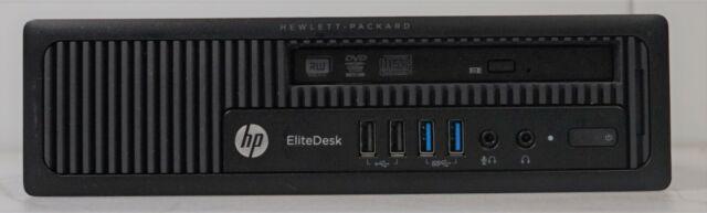 HP EliteDesk 800 G1 USDT Intel i5-4590S 3GHz 4GB DDR3 500GB HDD WIN7COA No OS