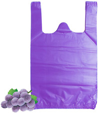 Lazyme T Shirt Carry Out Bags Plastic Grocery Bags With Handles Shopping Bags In