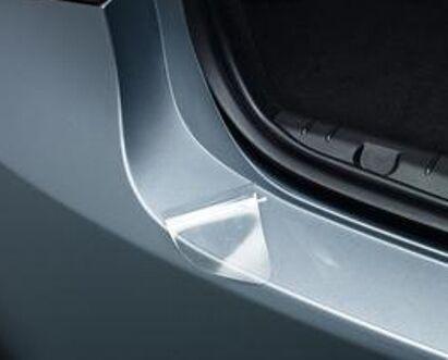 Hatchback Clear film rear Bumper Protector 542 Skoda Fábia