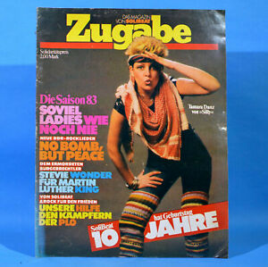 GDR-Encore-Magazine-from-Solibeat-1983-Silly-NO55-Stevie-Wonder-Brigitte