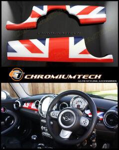 BMW MINI Cooper R55 R56 R57 R58 R59 LCI Dashboard Panel Trim Cover White Silver