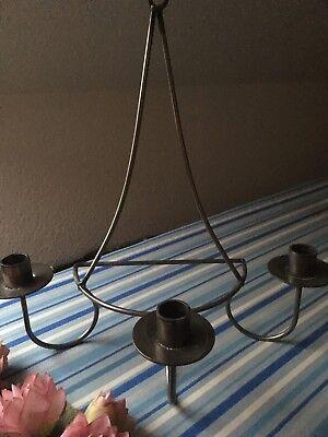 Wandleuchter Kerzenleuchter Metall 3 Flammig 35 X 33 X 19 Cm (dänemark)