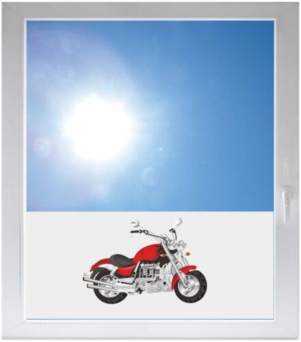 Sichtschutzfolie Sonnenschutz Fensterfolie Motorrad GME350