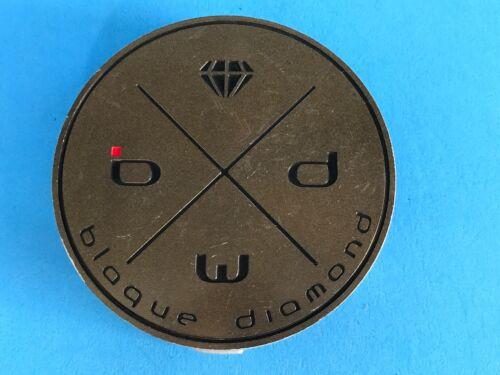 RARE BLAQUE DIAMOND WHEEL CUSTOM WHEEL BROWN CENTER CAP S1311-03-21 CAP-2230K075