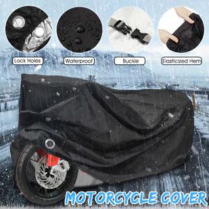 Motorcycle-Motorbike-Cover-Waterproof-Outdoor-Rain-Dust-UV-Protector-ALL-SIZE