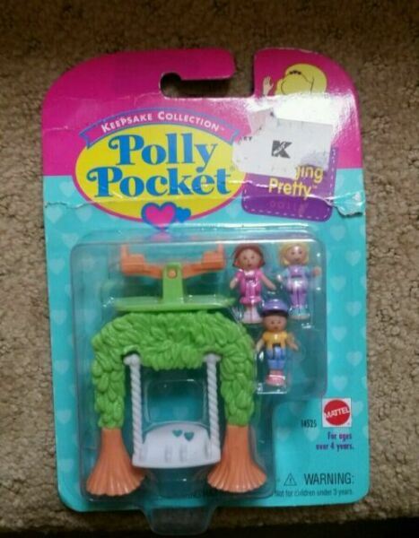 Polly Pockets For Sale: 1995 Vintage Polly Pocket Swinging Pretty Playset Mattel