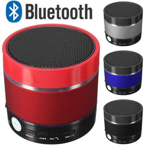 Potente portátil Bluetooth Inalámbrico Altavoz Estéreo fuerte Usb Auxiliar Bolsillo de viaje