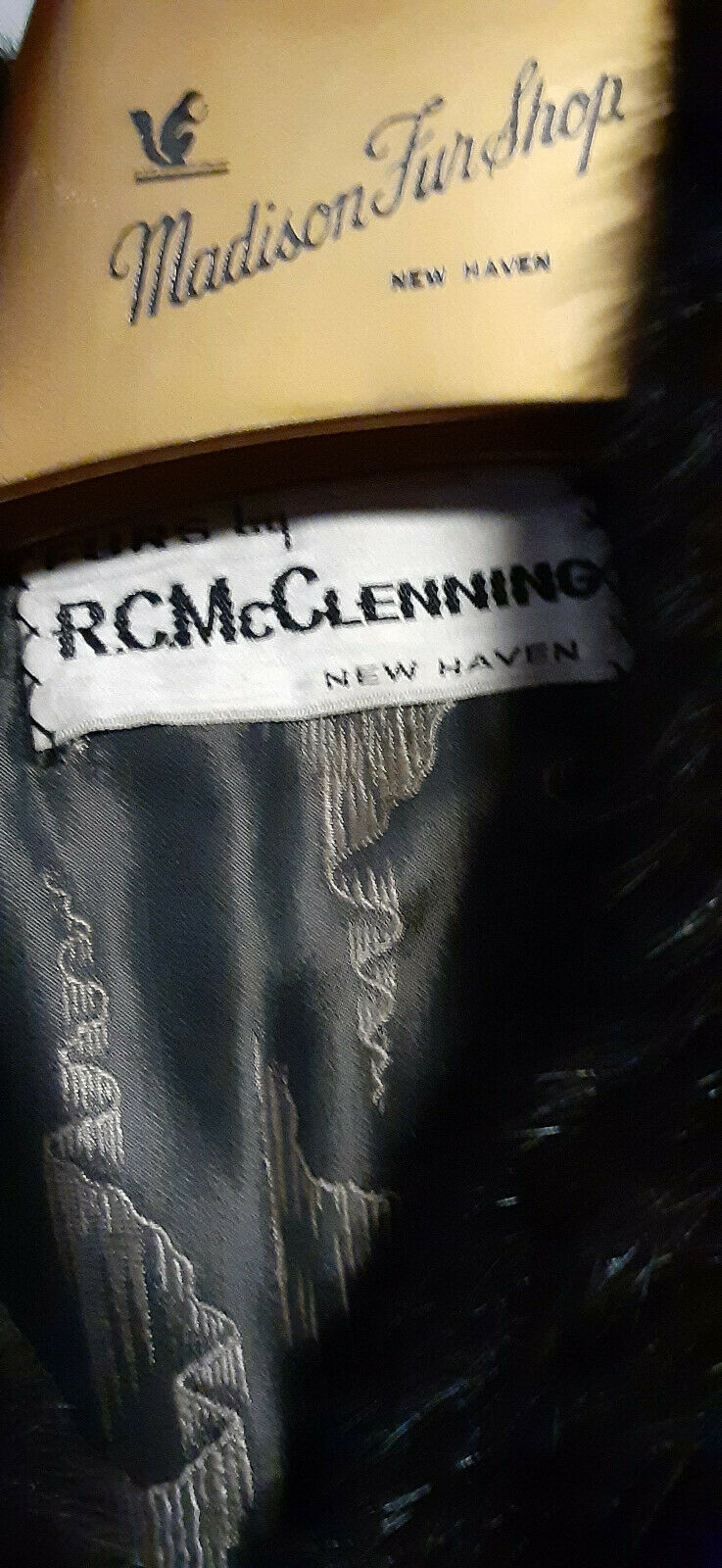 VINTAGE DELUXE FULL LENGHT MAHAGONY BROWN MINK W/… - image 9