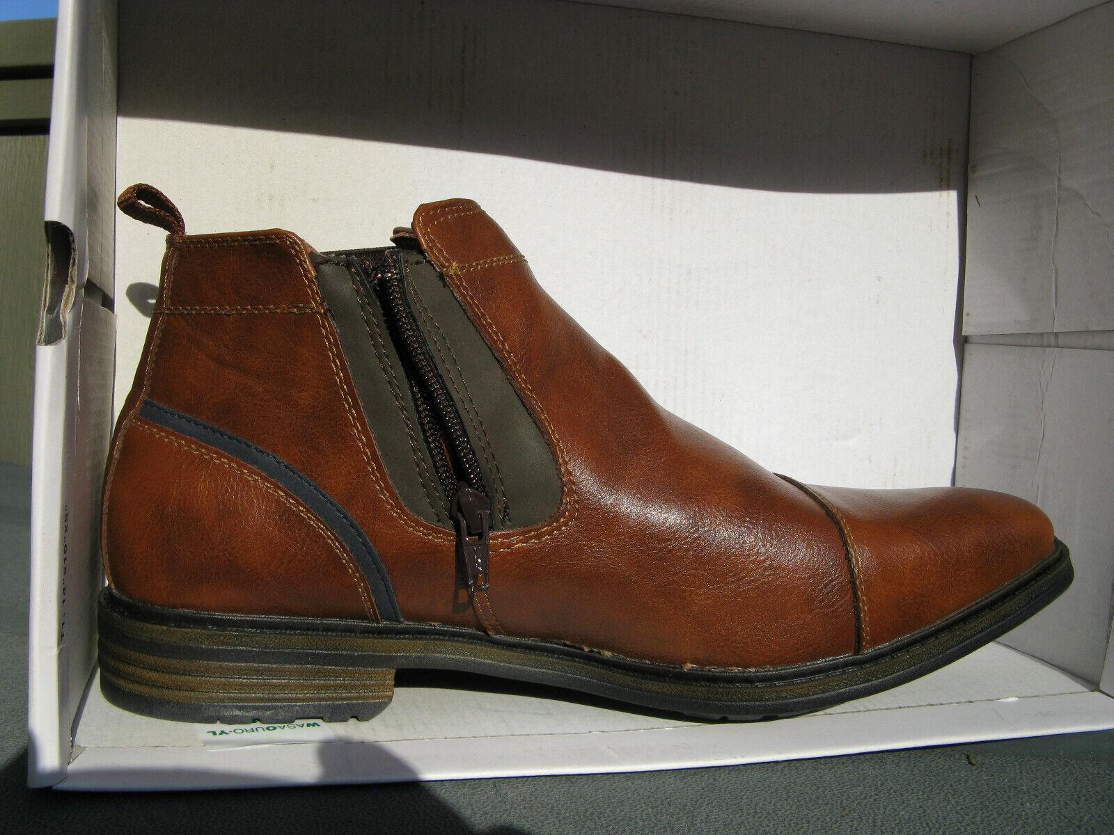 Dress stivali-NIBSonoma Bre  Ankle zip- sz 12- Vitalize by Ortholite insert Sautope classeiche da uomo