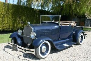 Ford Model A Roadster Pick Up V8 Hot Rod. Pro Built, Stunning example