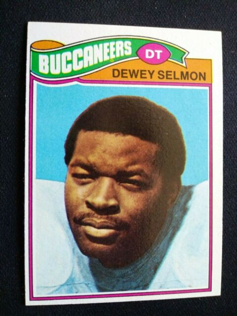 1977 Topps Football Card # 178 Dewey Selmon - Tampa ...