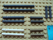 Lego Technic/Mindstoms NXT ~ Mixed Lot Of Cross Axle Rods w/ Stop Ring Pin #zuh5