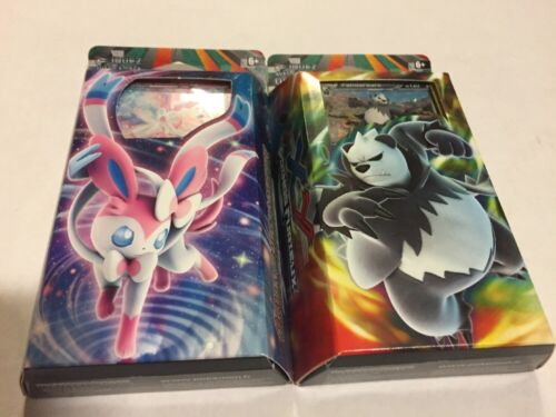 FRENCH Pokemon Furious Fists Set Of Both Theme Decks Card Game TCG CCG