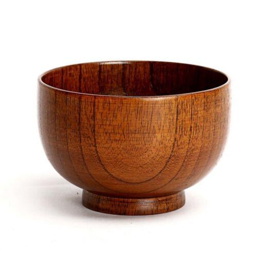 Rice Kids Box Kitchen 1Pcs Tableware Lunch Wooden Bowl