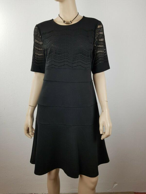 """ Dkny "" Traumhaftes Damen Abendkleid Business Dress Party Kleid Schwarz Gr. 40"
