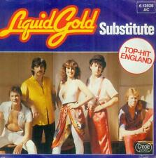 """7"""" Liquid Gold/Substitute (D) Top Hit England"""