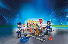 PLAYMOBIL® 6878 - POLIZEI-STRAßENSPERRE, NEU/OVP