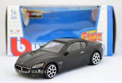 Maserati gran turismo 1:43 voiture noir nouveau modèle moulé sous pression models cars die cast