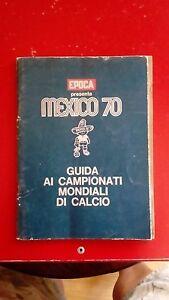 Mexico-70-mondiali-di-calcio-del-1970-sport-calciatori-panini-vintage-figurine