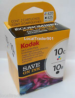 Kodak Color 10 10c Black 10b Ink Inkjet Cartridge Multi-pack In Box