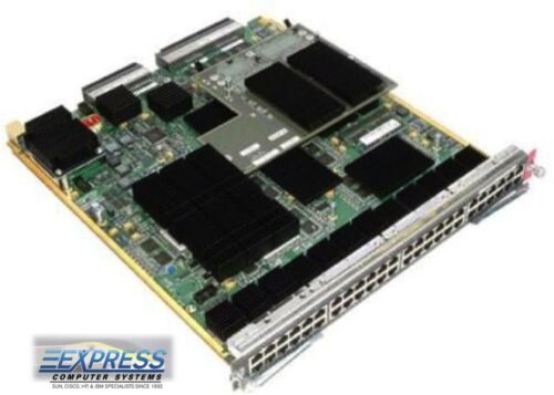 Cisco WS-X6748-GE-TX Cat6500 48-port 10//100//1000 GE Mod Refurbished