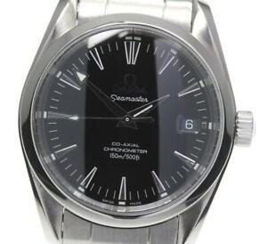 OMEGA Seamaster Aqua Terra 2504.50 Date black Dial Automatic Boy's Watch_578204