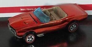 Restored Hot Wheels Redline - 1968 - Custom Firebird - Red