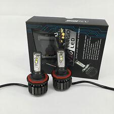 US Cree LED Headlight Kit 80W & 7600LM/Set, H13/9008 Hi/Lo - Cool White 6000K
