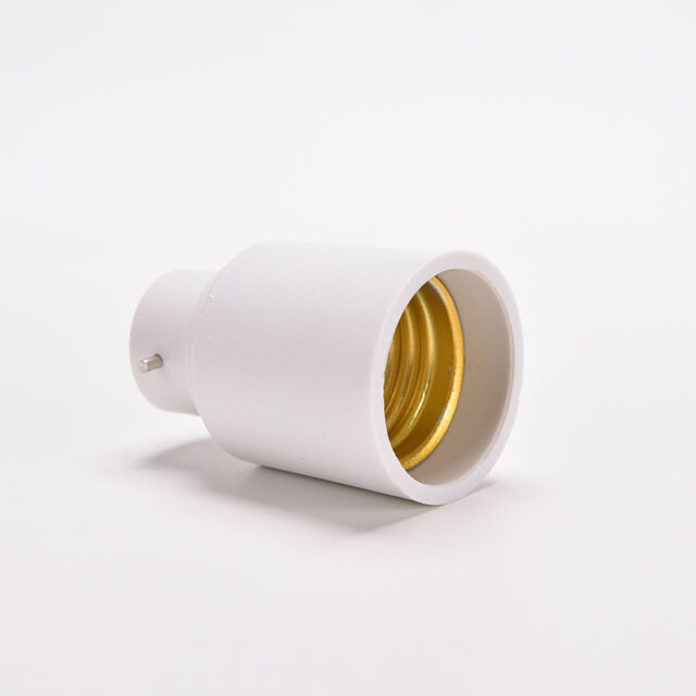 B22-E27 Light Lamp Bulb Socket Base Converter Edison Screw to Bayonet Cap S Pq