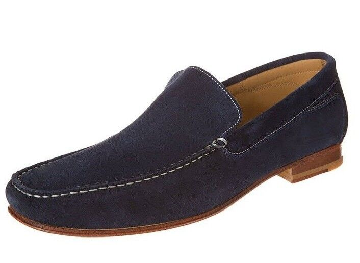 MENS HANDMADE HIGH QUALITY SUEDE LOAFERS SHOES CUSTOM MADE SIZES