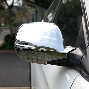 2pcs ABS Chrome Rearview Strip Side Mirror Cover Trim fit for Honda CRV 2017