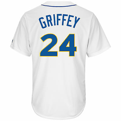 Ken Griffey Jr. Seattle Mariners 1978 Cooperstown Cool Base Jersey XL