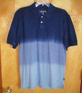 9f78729f NWT mens size S blue IZOD LUXURY SPORT s/s polo shirt free shipping ...