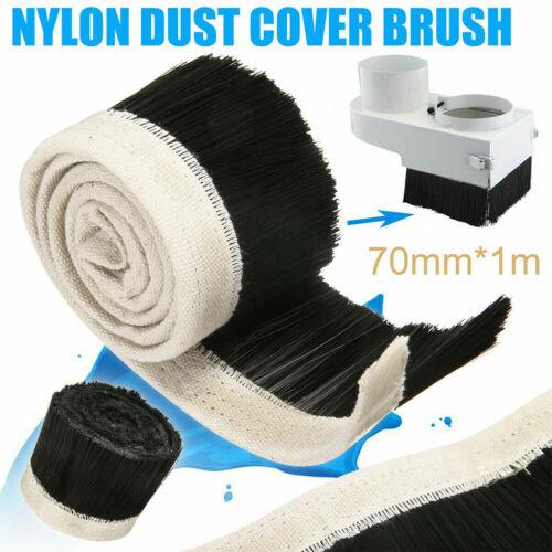 Nylon Brush Engraving Machine Dust Shoe Cover Shield Brush For CNC Parts