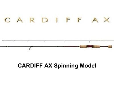 Shimano CARDIFF AX S62UL-F Spinning Rod for Trout