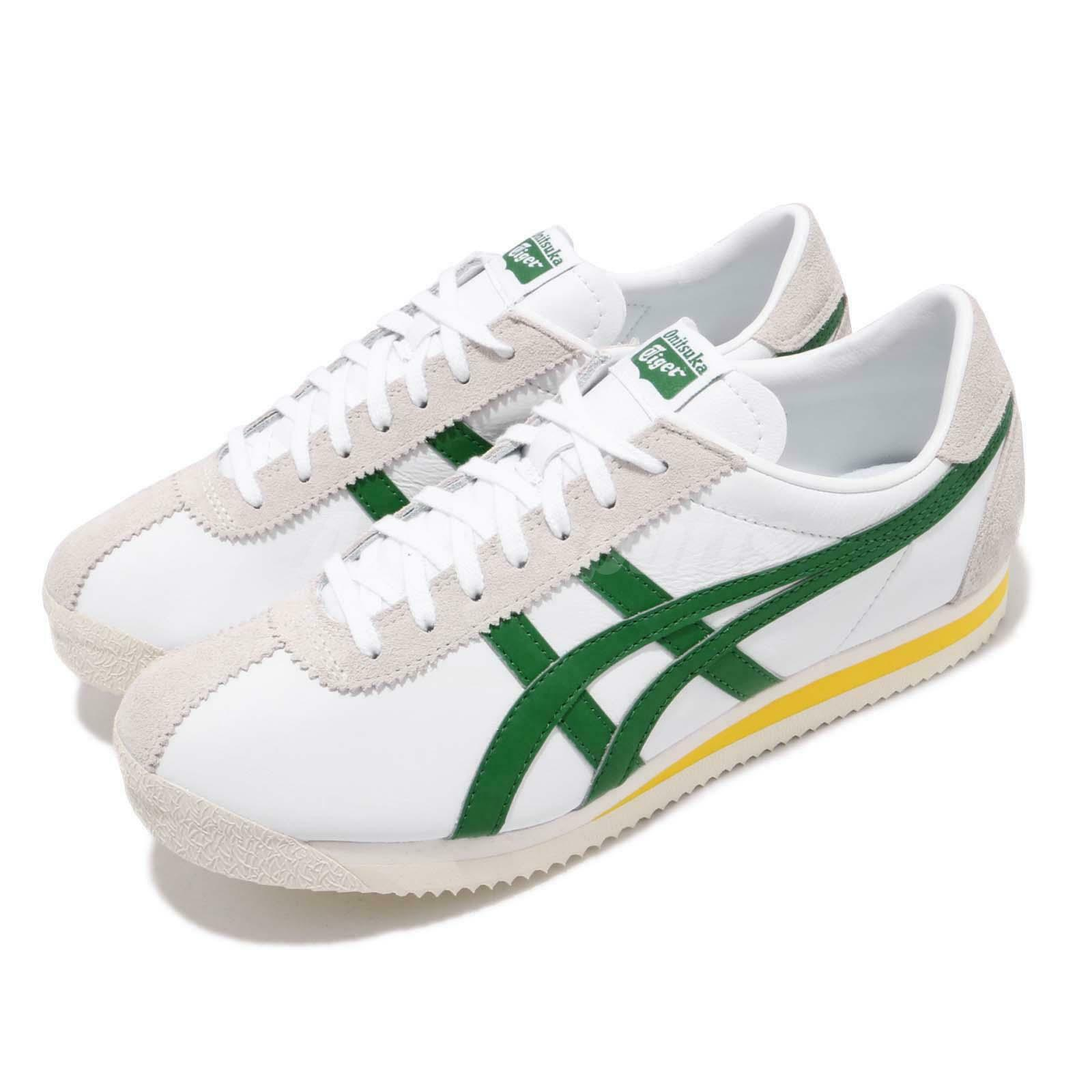 Asics Onitsuka Tiger Corsair blancoo verde Amarillo Hombres Mujeres Zapatos 1183A357101