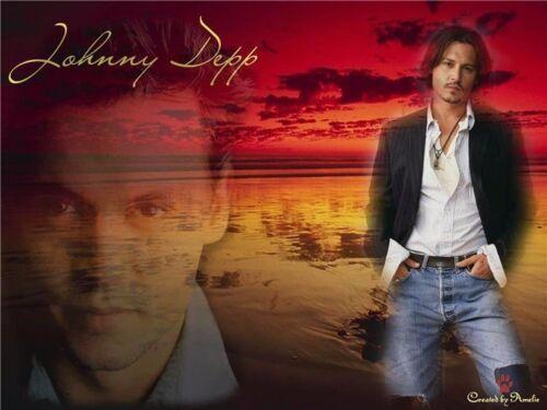 "Johnny Depp Movie Man Star Wall 17/""x13/"" Poster J57"